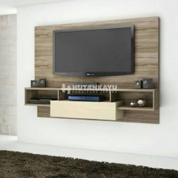 Backdrop TV Minimalis Vintage
