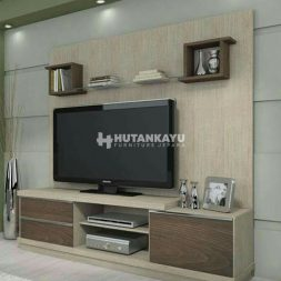 Backdrop TV Minimalis Standard
