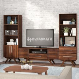 Backdrop TV Retro Dark Brown