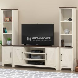 Backdrop TV Minimalis Duco
